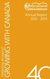 Polycultural Annual Report 2012 2013 Cover
